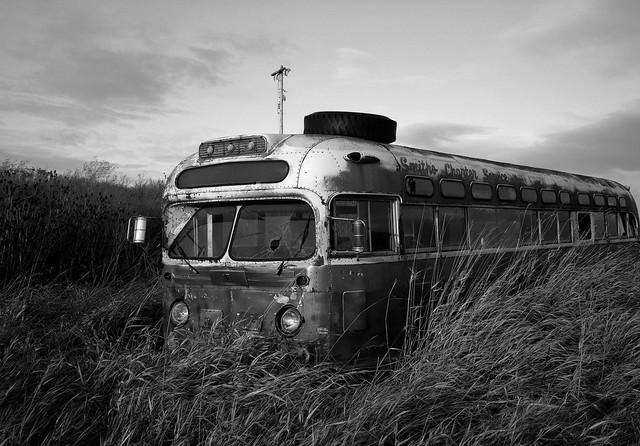 Bus, Eastern Washington