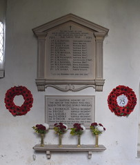 WWI and WWII memorials
