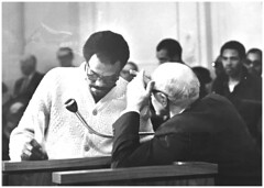 Future mayors confer at freeway hearing: 1968