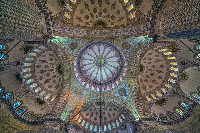 Sultan Ahmet Cami Kubbesi(Sultan Ahmet Mosque Dome)