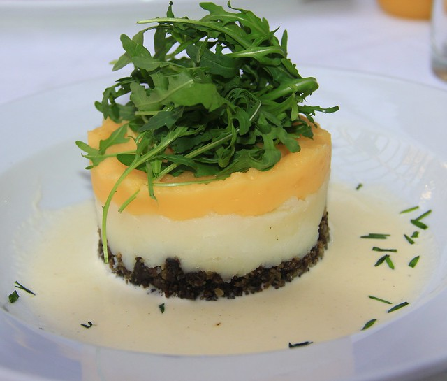 Many people are making modern adaptations of the traditonal haggis, tatties and neeps
