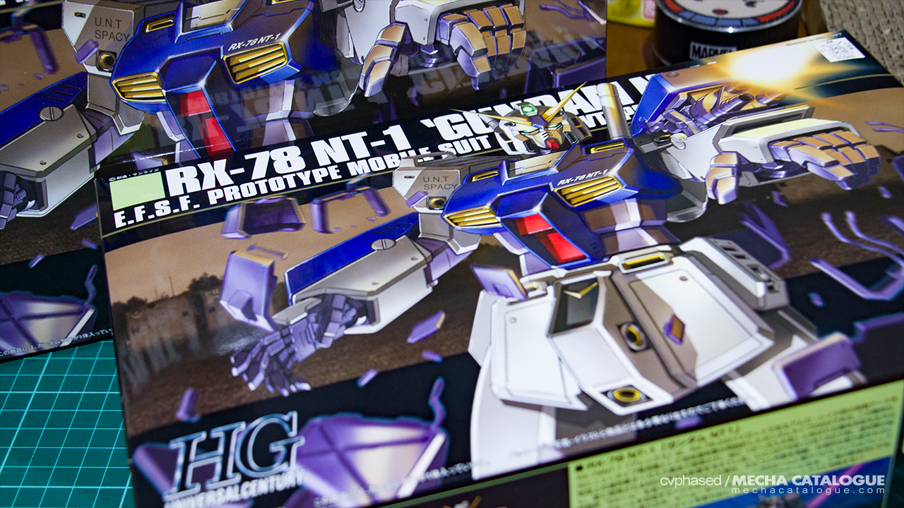 "I'm Doing Doubles Again! HGUC Gundam NT-1 ""Alex"""