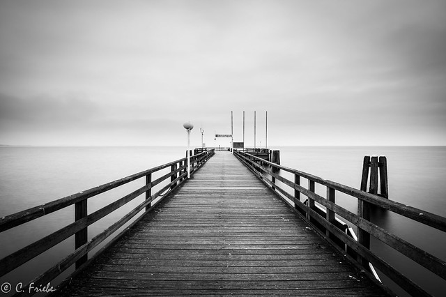 Cloudy morning by the sea