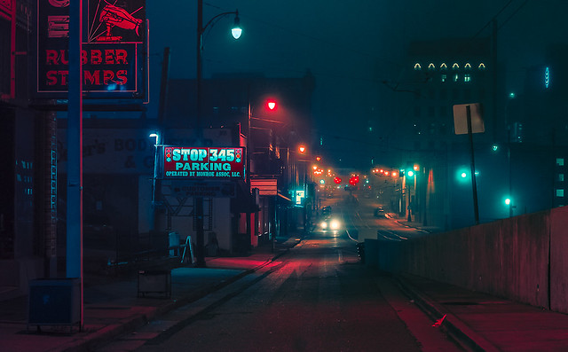 In the Fog - Memphis Tennessee