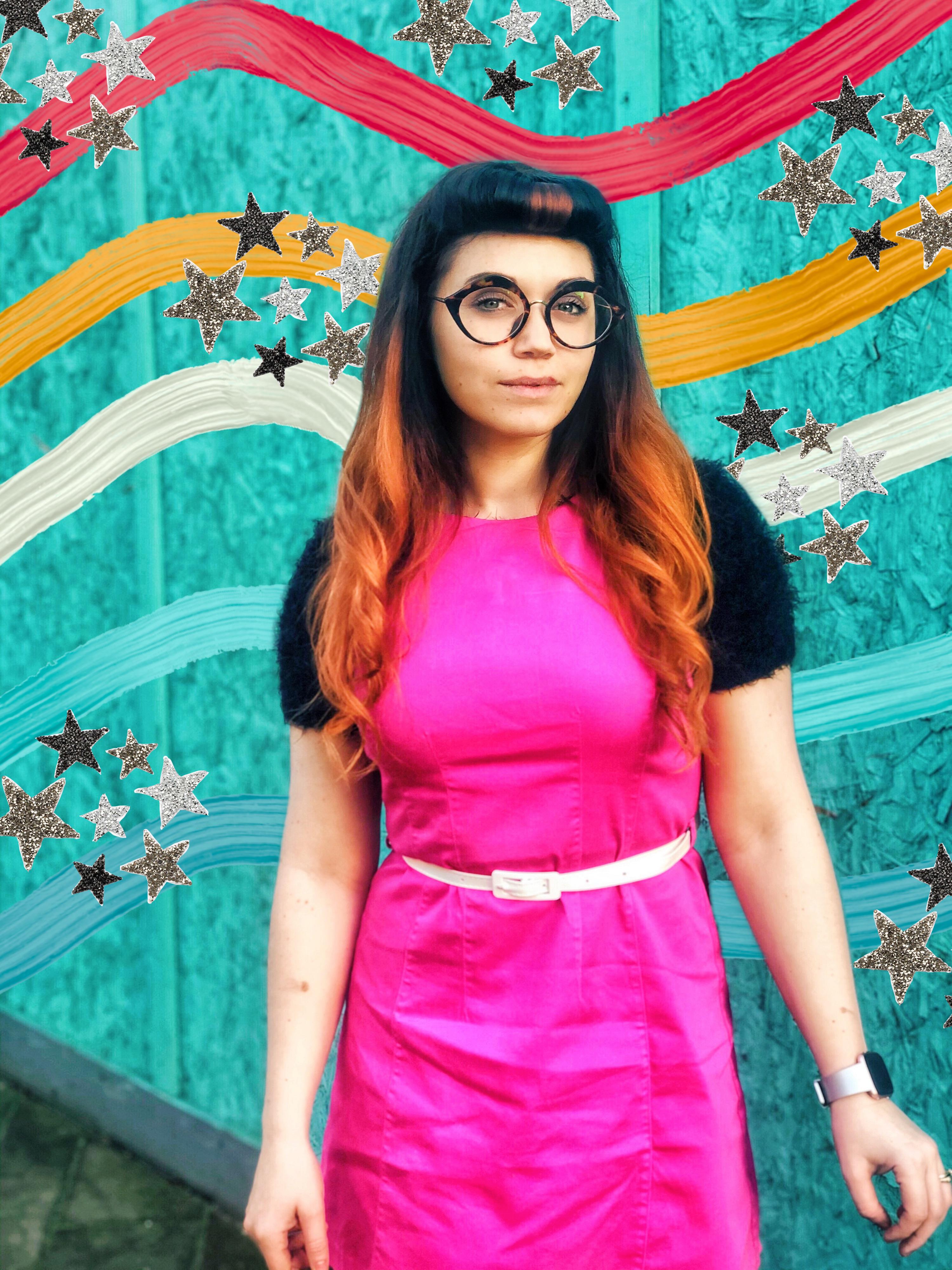 Cerise Pink Dress
