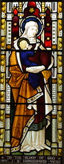 St Anne and the infant Blessed Virgin
