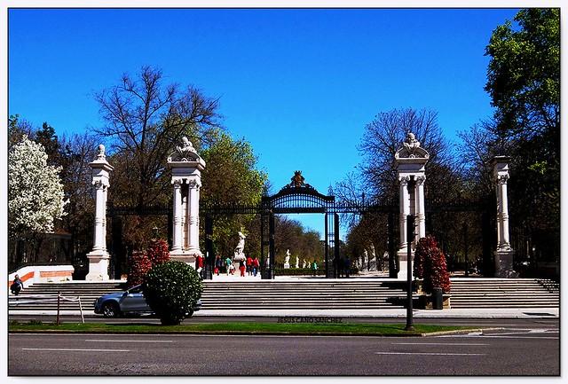 Puerta de España, Parque del Retiro, Madrid (España)