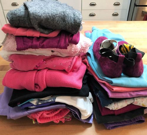 clothing to purge