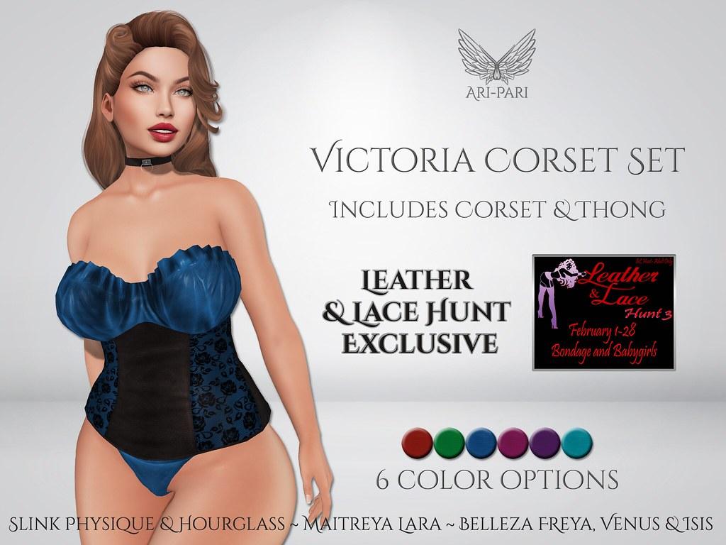 [Ari-Pari] Victoria Corset Set