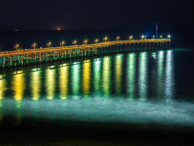 Ventura Pier Ventura Beach California Starry Night Fuji GFX100! Dr. Elliot McGucken Medium Format Master Fine Art Photographer dx4/dt=ic Fujifilm GFX 100 & Fujinon GF Lens!