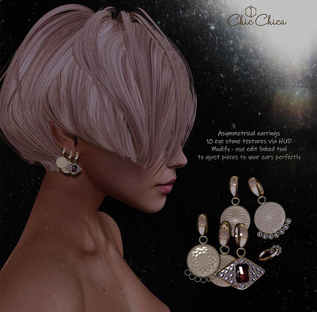 Ipek earrings by ChicChica @ Cosmopolitan