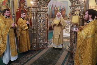 26.01.2020 | Божественная литургия в Иверском монастыре