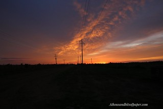 Ubiquitous sunrise and power poles | by Kathrynanne72