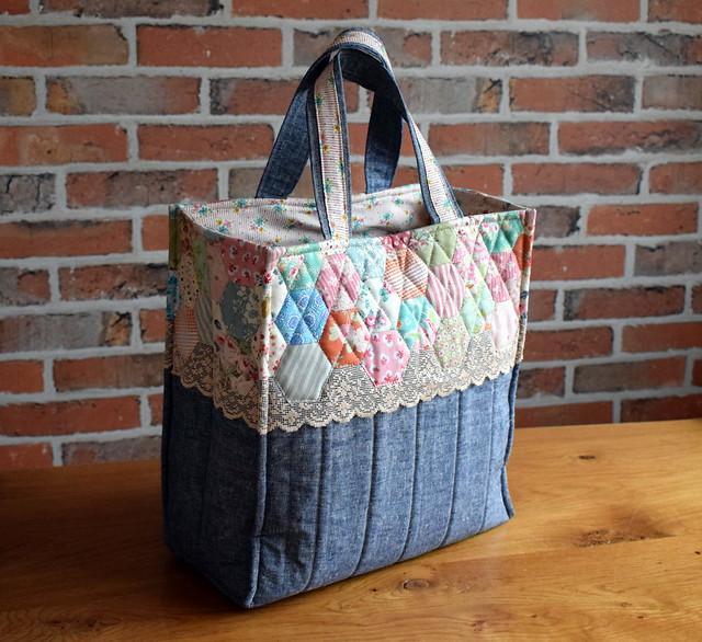 Hexie Book Bag