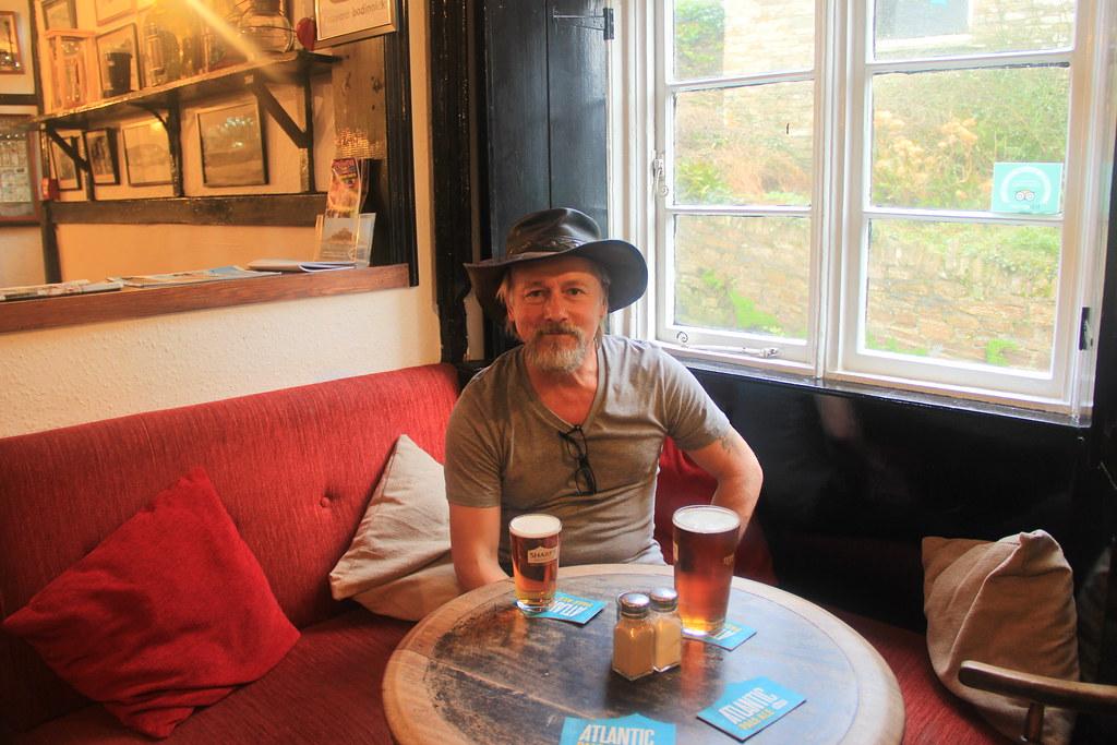 Stu in the Old Ferry Inn, Bodinnick