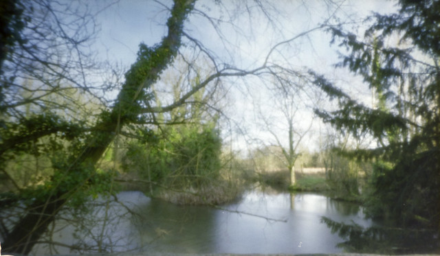 Pinhole of the River Itchen