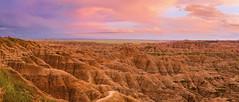 Sunset at Badlands NP