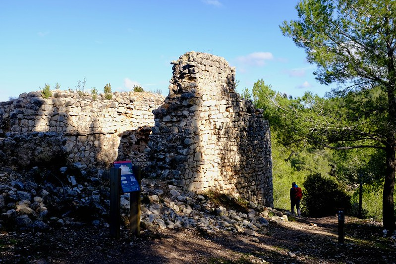 Cami del Castell vell, Olivella