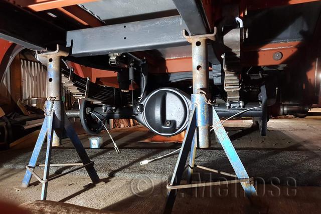 027a Handbrake cables