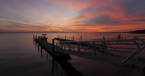 sammysantiago samuelsantiago fineart walldecor photography sunset enterprise florida boat pier canon5dmkii canonef1740mmf4l