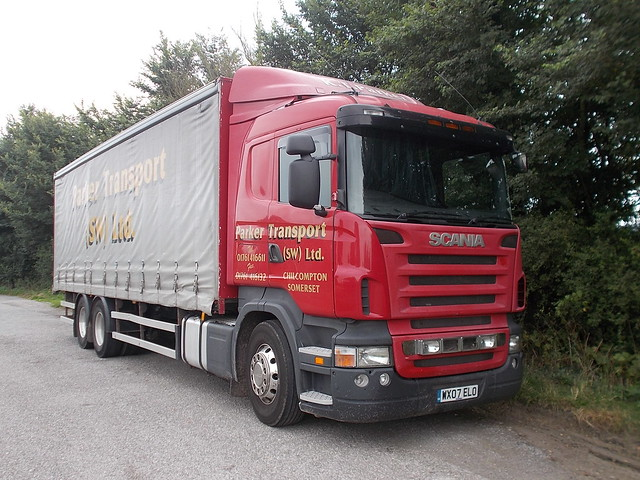 Scania - Parker Transport (SW) Ltd