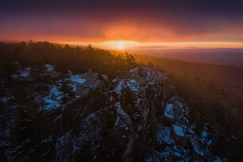 Sunrise at Bear Cliff