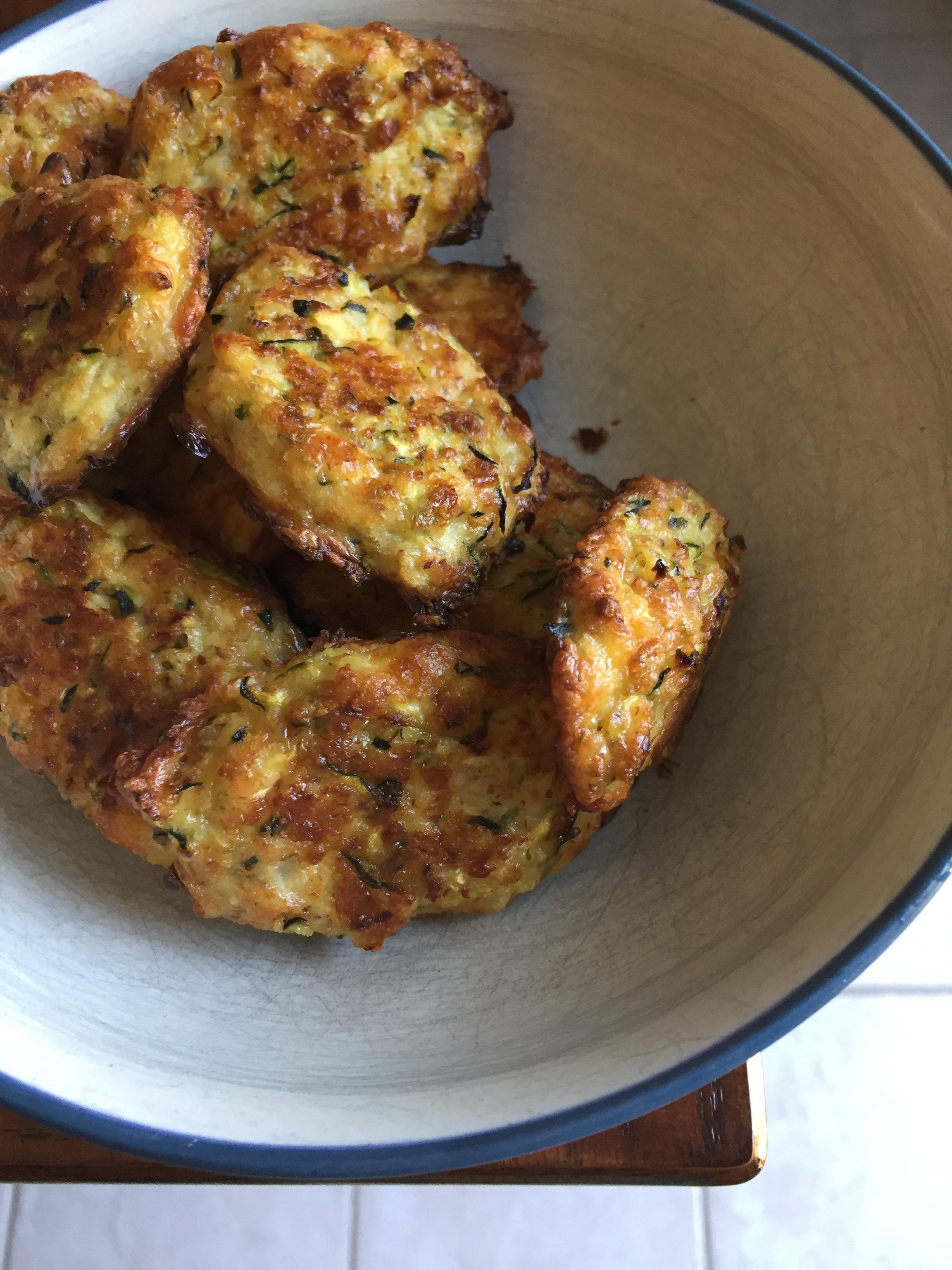 Baked Zucchini Puffs