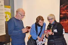 """14.12.19: Ausstellung """"Striche und Flecken. Psychogramme einer Politischen"""""""