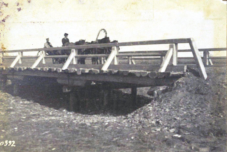 392. Деревянный мост