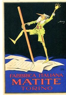 libro - book - livre - buch - matite - storia e pubblicità - di giovanni renzi - silvanaeditoriale (1) - pinocchio - pubblicità
