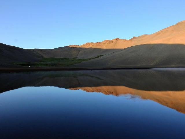 Campamento en Laguna Sin Puerta