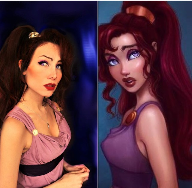 Real Life Megara from Hercules