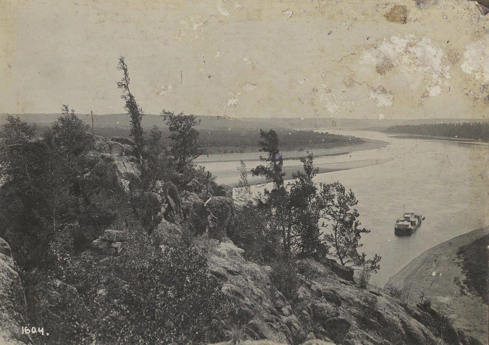 1604. Вид с водоворотного утёса