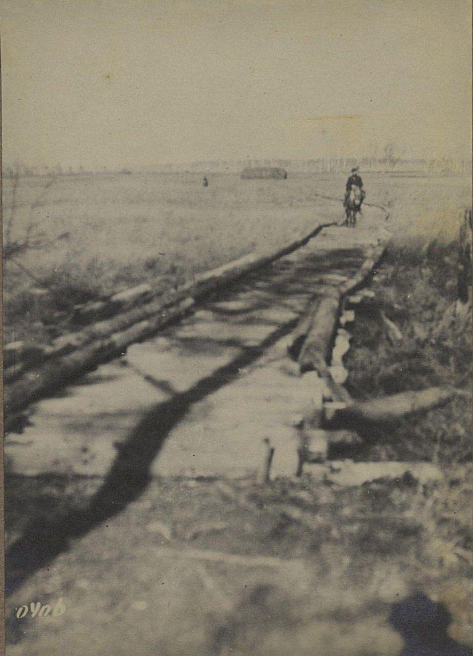 406. Мост через болото