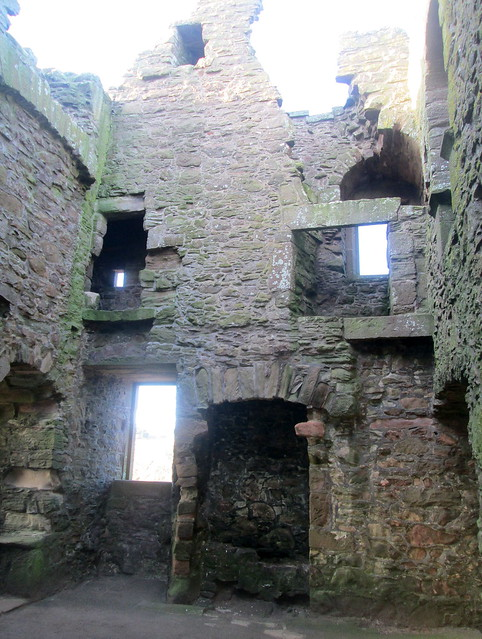 Dunnottar Castle interior
