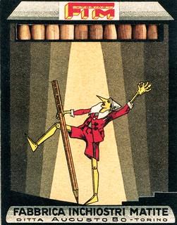 libro - book - livre - buch - matite - storia e pubblicità - di giovanni renzi - silvanaeditoriale (6) pinocchio - pastelli