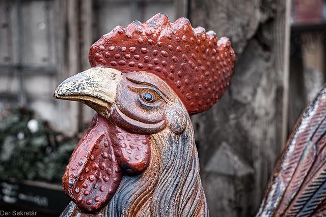 Der Hahn (1/2) --- The cock (1/2)