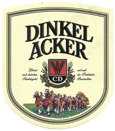 Dinkelacker-label