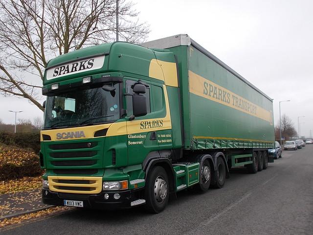 Scania - Sparks Transport