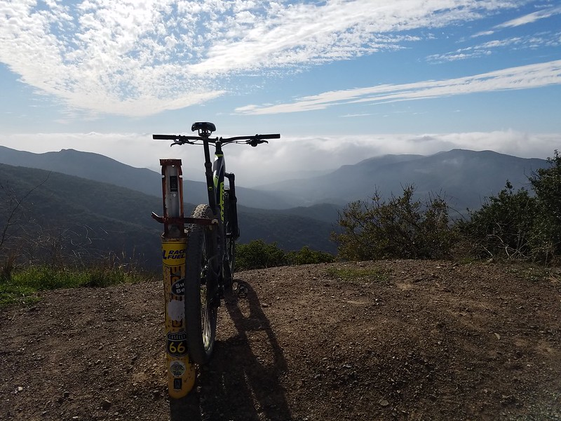Santa Ana Mountains • View from Doppler Radar