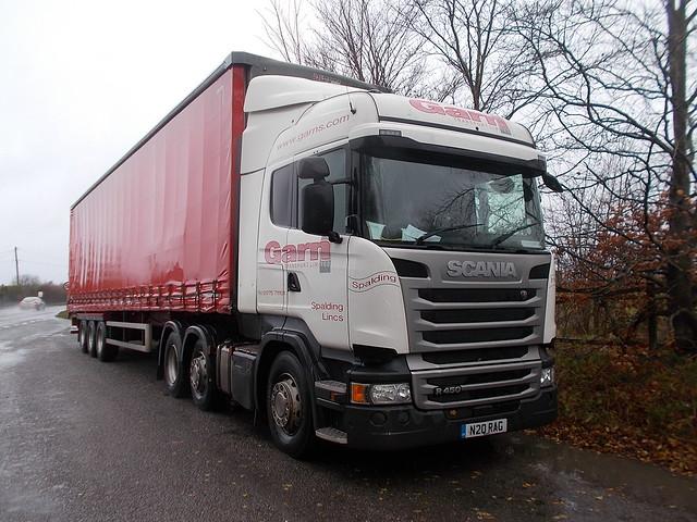 Scania R450 - Garn Transport Limited