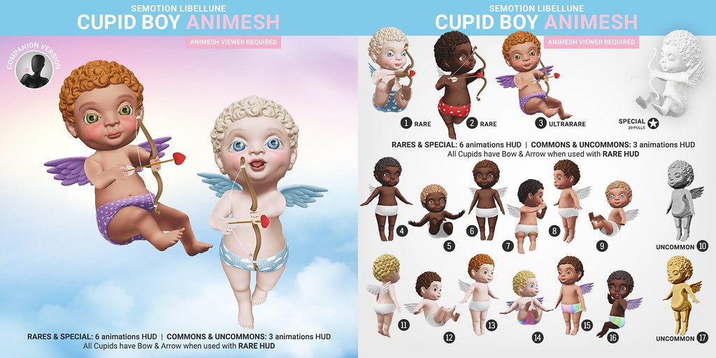 SEmotion Libellune Cupid Angel Boy Animesh