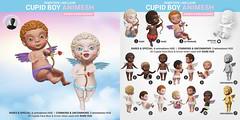SEmotion Libellune Cupid Angel Boy Animesh