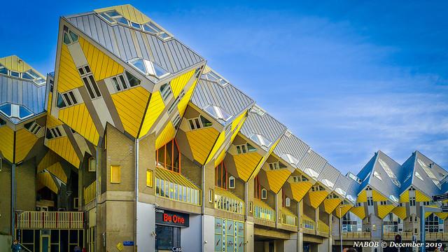 Rotterdam, Netherlands: Cube Houses (Kijk Kubus)