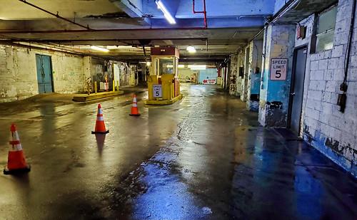 Nighttime Garage - Brooklyn, NYC