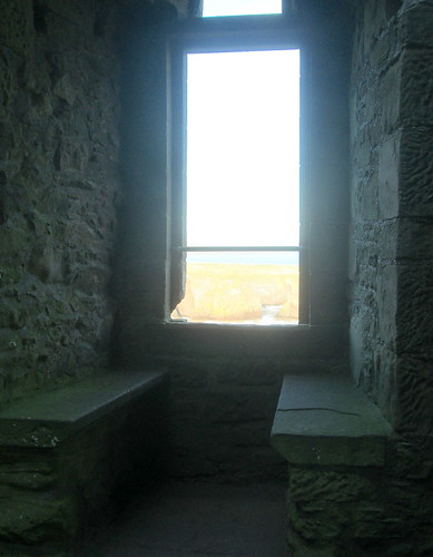 Dunnottar Castle  windowseat