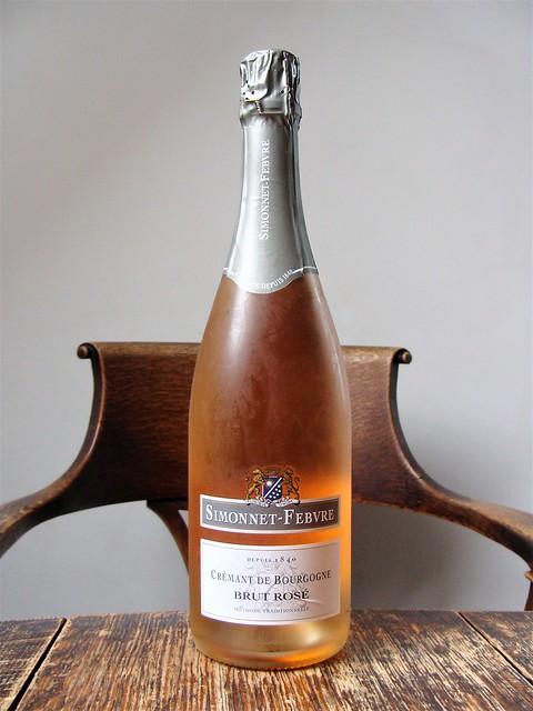 Simonnet-Febvre NV Brut Rosé (Crémant de Bourgogne)