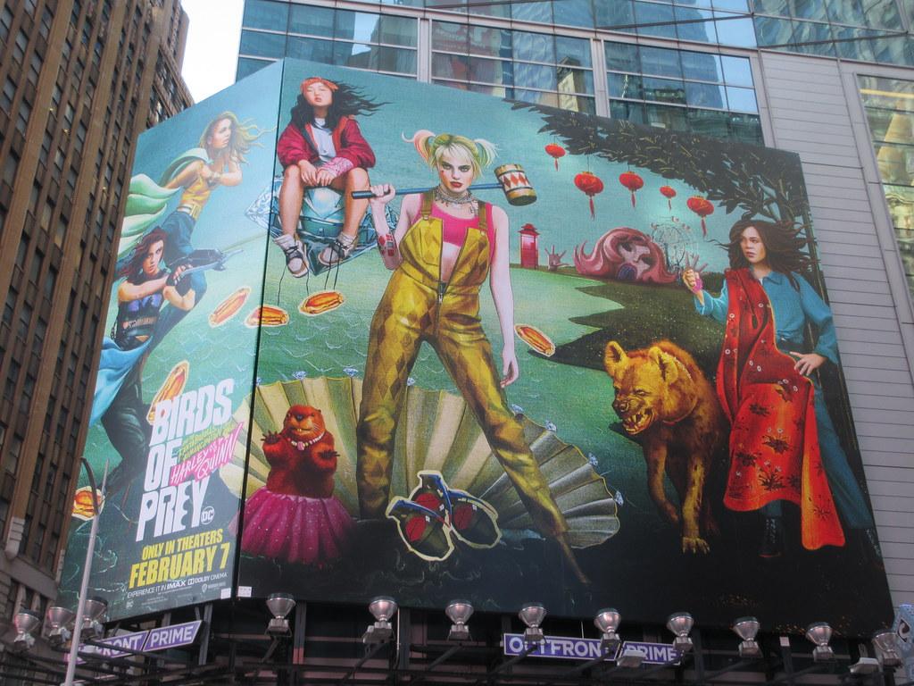 2020 Birds Of Prey Billboard Poster Times Square 4779 Flickr