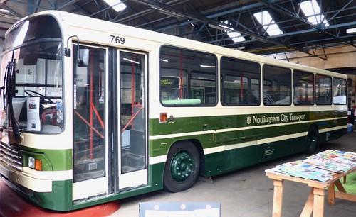 N769 WRC. 'Nottingham City Transport' No. 433. Volvo B10M / Alexander PS /1  on Dennis Basford's railsroadsrunways.blogspot.co.uk'