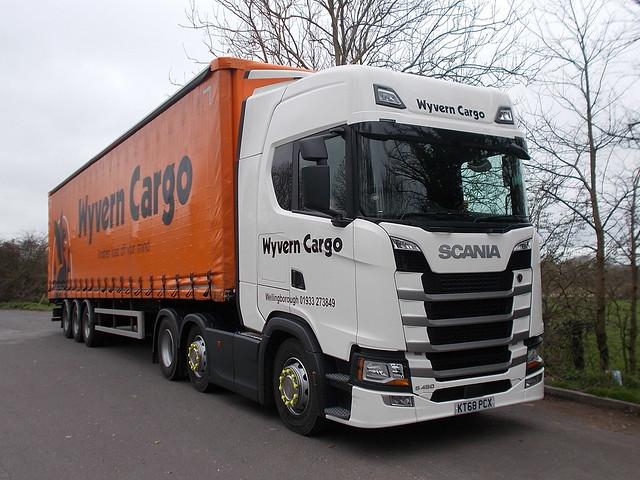 Scania S450 - Wyvern Cargo